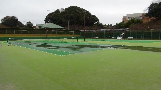 テニスコート画像