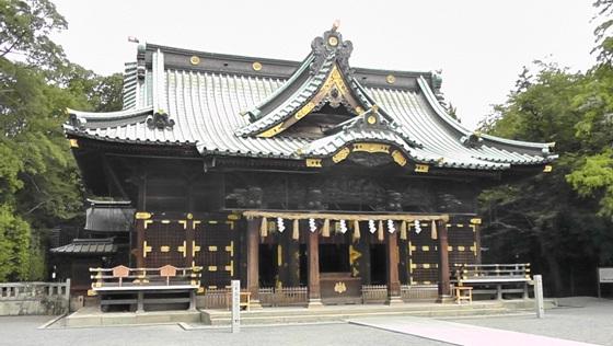 三嶋大社の本殿画像