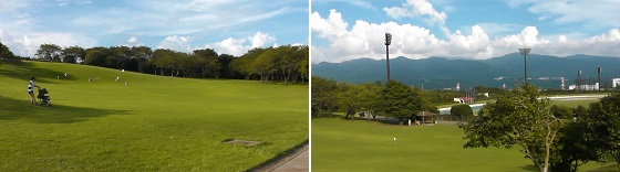 芝生の丘(裾野市運動公園)