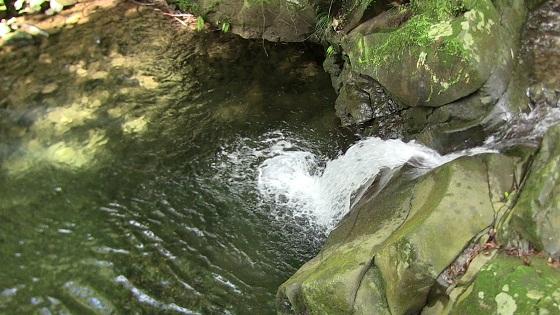 蜘蛛ヶ淵 滝壺