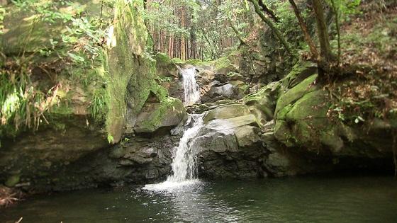 蜘蛛ヶ淵の滝