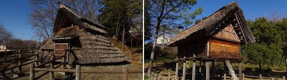 弥生時代の住居と倉庫(2)