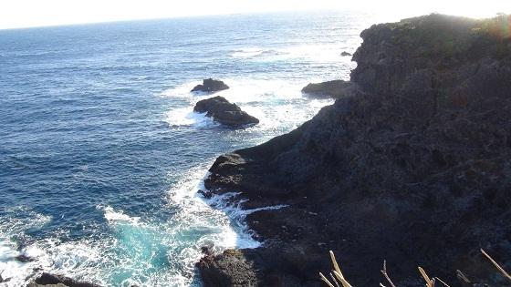 海の水飛沫
