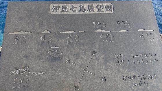 伊豆七島展望図