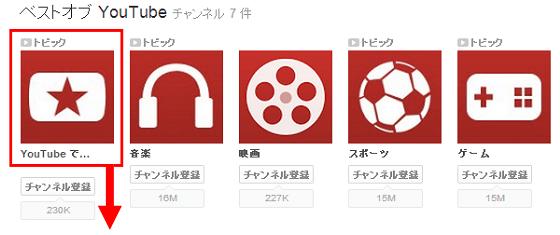 YouTubeで人気(1)