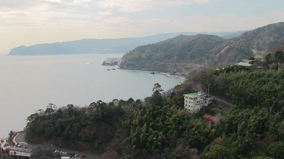 熱海城から見える海