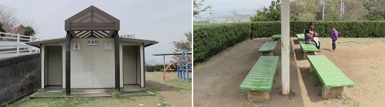 トイレ・休憩スペース(ベンチ)