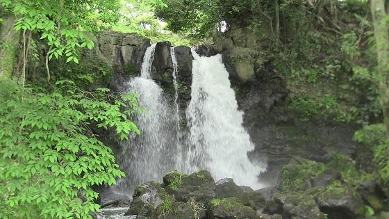不動の滝(裾野市)