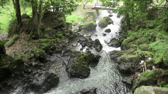 不動の滝上(2)