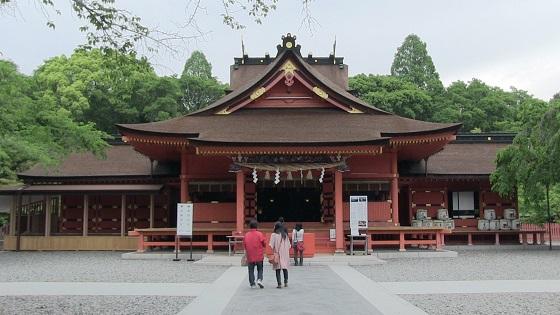 富士山本宮浅間大社の本殿画像