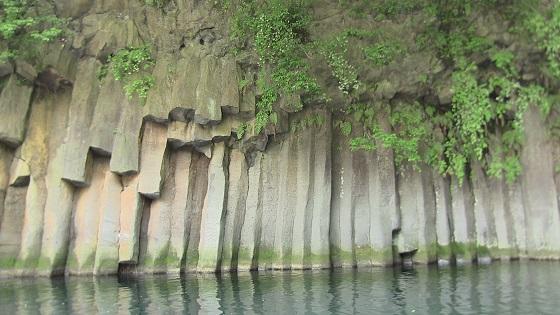 屏風岩溶岩壁(1)