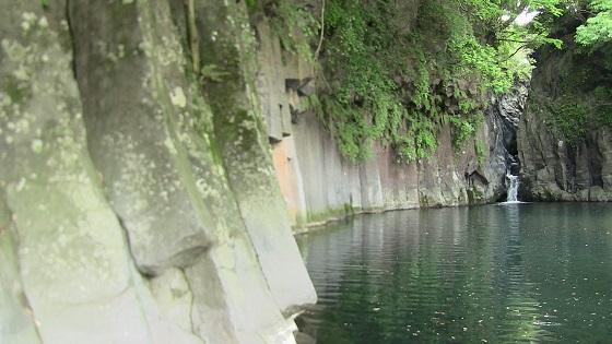屏風岩の滝(2)