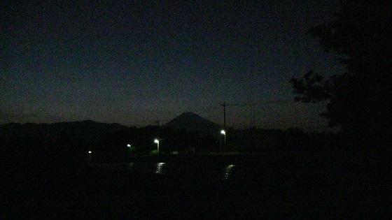 富士山のシルエット(1)