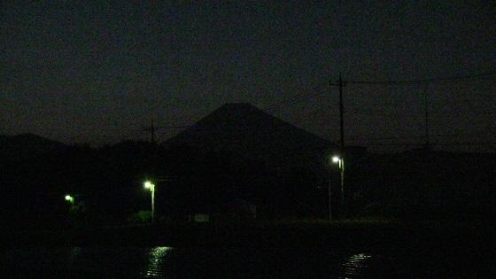 富士山のシルエット(2)