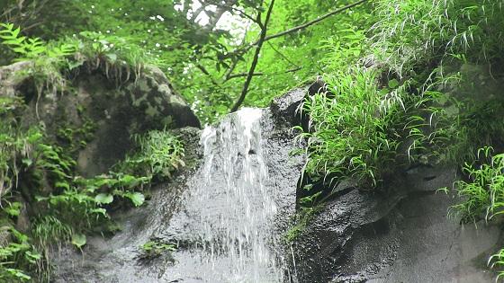 つるべ落としの滝(1)