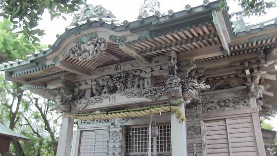 大瀬神社(本殿)