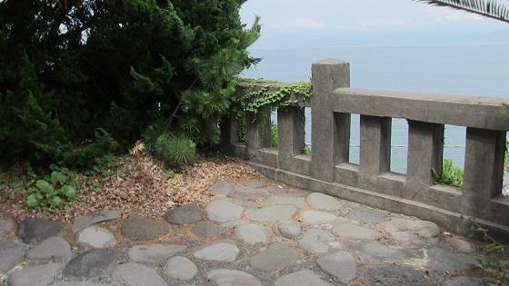 大瀬神社からの海景色(1)