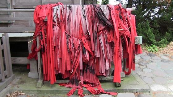 謎の赤い布