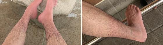 足湯後の効果