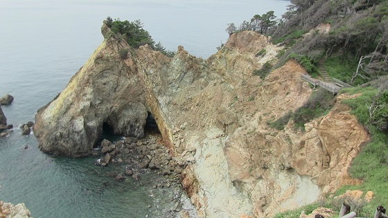 崖と海の景色