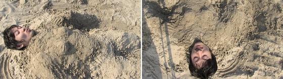砂埋めボディ(はる蔵)