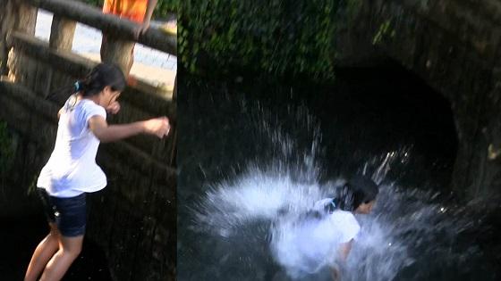 川飛込み遊び
