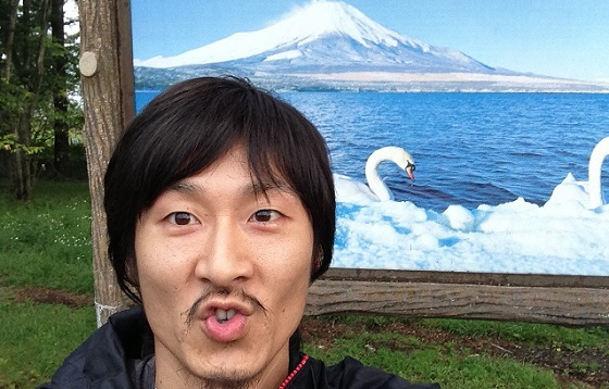 富士山看板×記念撮影