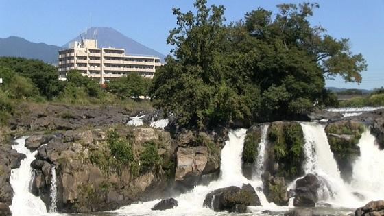 富士山×鮎壺の滝
