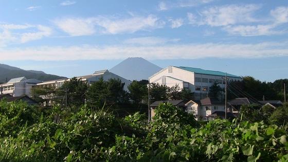 富士山×小学校