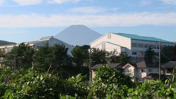 富士山×千福が丘小学校