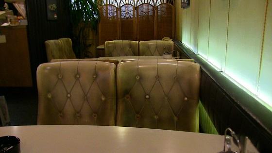 店内テーブル・配置