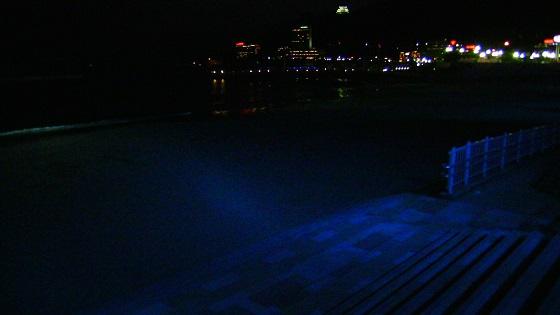 熱海サンビーチのライトアップ(浜辺)1