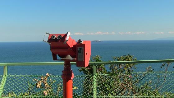 望遠鏡&大海原&初島