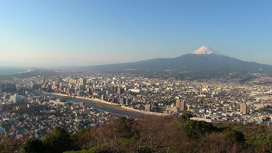 香貫山展望台から見える景色・風景(1)