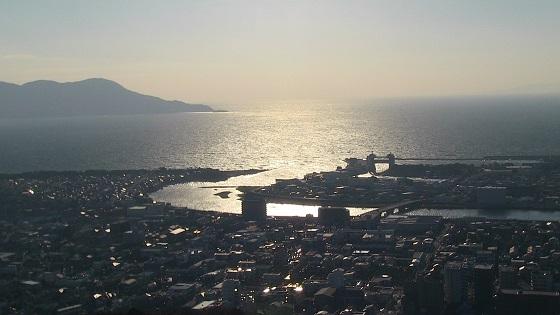香貫山展望台から見える景色・風景(2)