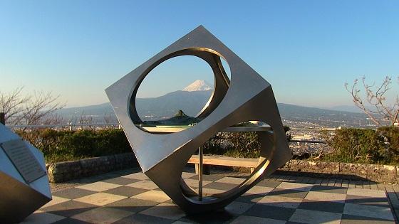香貫山山頂から見える富士山(1)