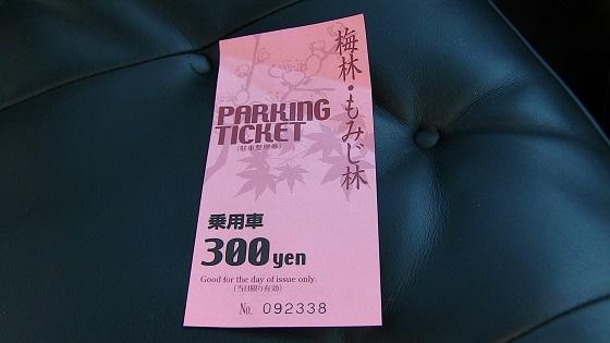 駐車整理券