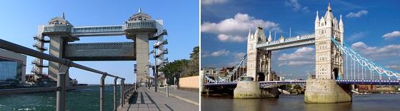 びゅうお・タワーブリッジの比較画像