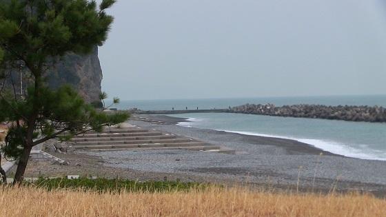 浜当目海水浴場ビーチ全体
