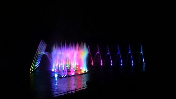 噴水ショー「はままつの栄光」(2)
