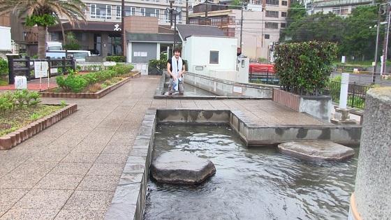 通常の足湯(1)
