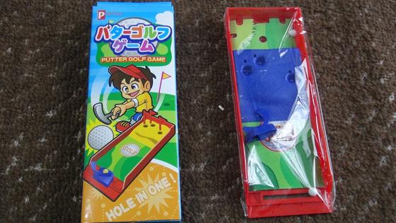 パターゴルフゲーム