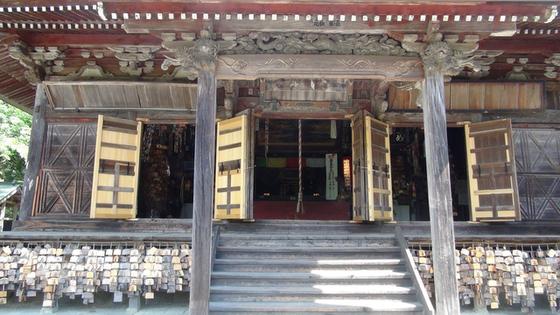 油山寺本堂