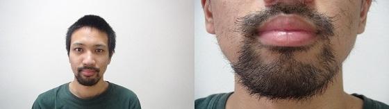 髭 伸びる 時間