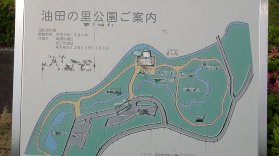 公園の案内地図