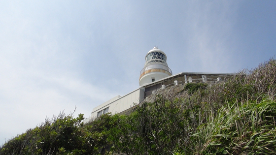 灯台の下アングル