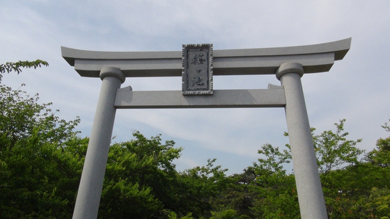 桜ヶ池鳥居