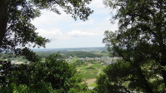 城跡からの景色
