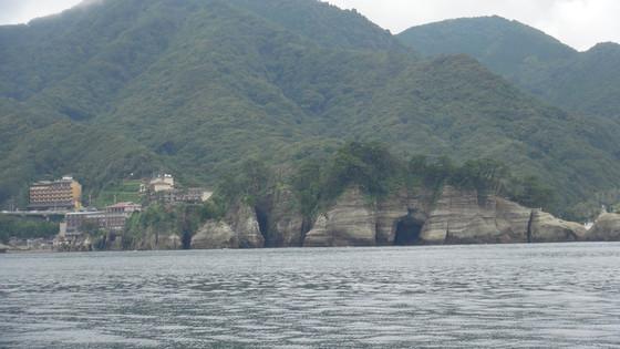 遊覧船からの景色3