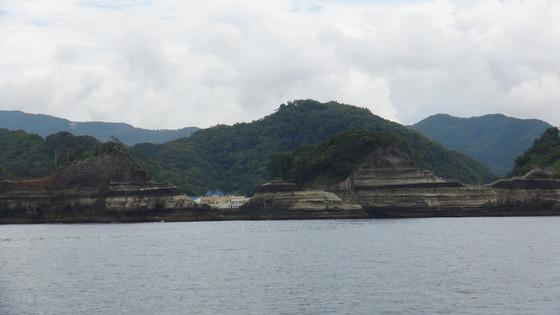 遊覧船からの景色4